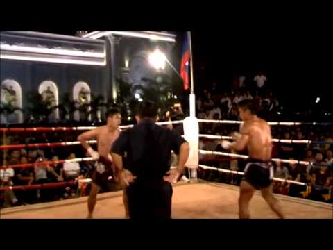 Myanmar lethwei- Shwe Htun Yon Vs (Thai Fighter) Wa Lat Wut