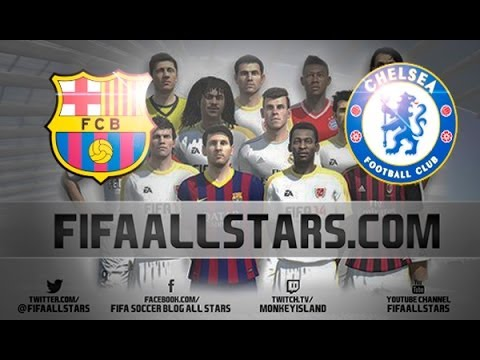 Fifa14 Barcelona Vs Chelsea - Fifaallstars video