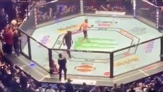 McGregor vs Khabib incident after fight