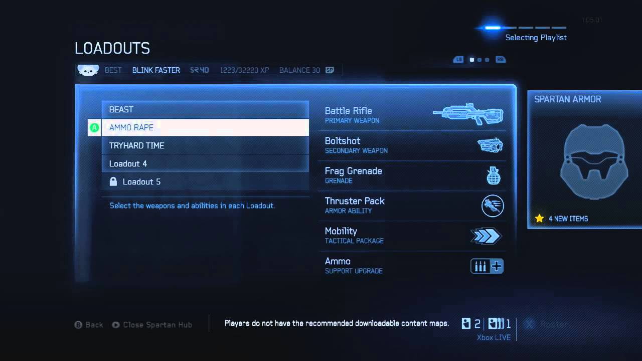 Best Multiplayer Loadouts Halo 4 Halo 4 my Top 3 Best Loadouts
