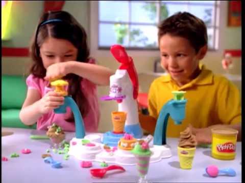 Play Doh Dondurma Dükkanı Oyun Hamuru