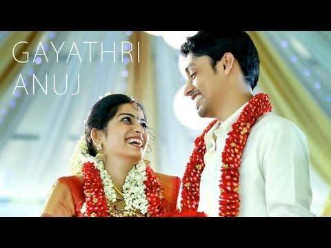 Kerala Cinematic Wedding Highlights Video of Gayathri & Anuj