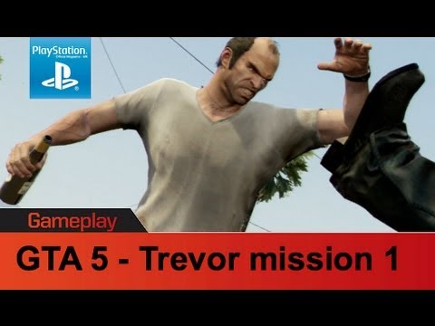 GTA 5 PS3 gameplay Trevor mission 1