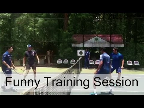 Mumbai Indians Funny Training Session | Exclusive Video