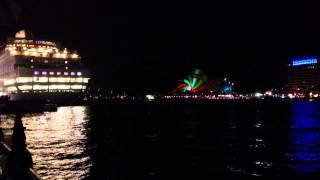 5/24 Vivid Sydney @  Circular Quay (harbour Master Steps) 2