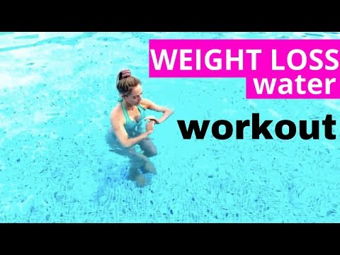 POOL WORKOUT - EASY WORKOUT THAT YOU CAN DO ON HOLIDAY JUST 6 MINUTES FULL BODY WORKOUT IN THE POOL