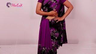 Offbeat Saree Draping Styles New Look