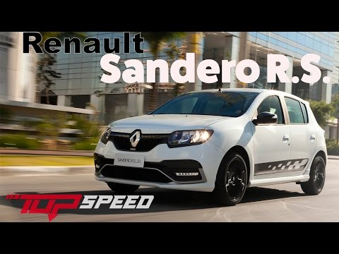 Avaliação Renault Sandero RS 2.0   Canal Top Speed