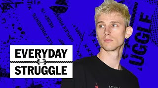 Machine Gun Kelly on 'Hotel Diablo,' Self-Acceptance, His Movies & Eminem Beef | Everyday Struggle