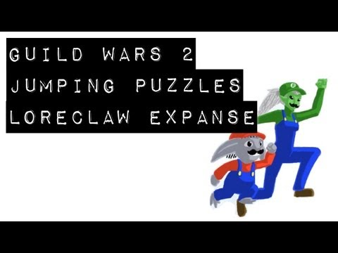Guild Wars 2 Puzzle Achievements - Loreclaw Expanse