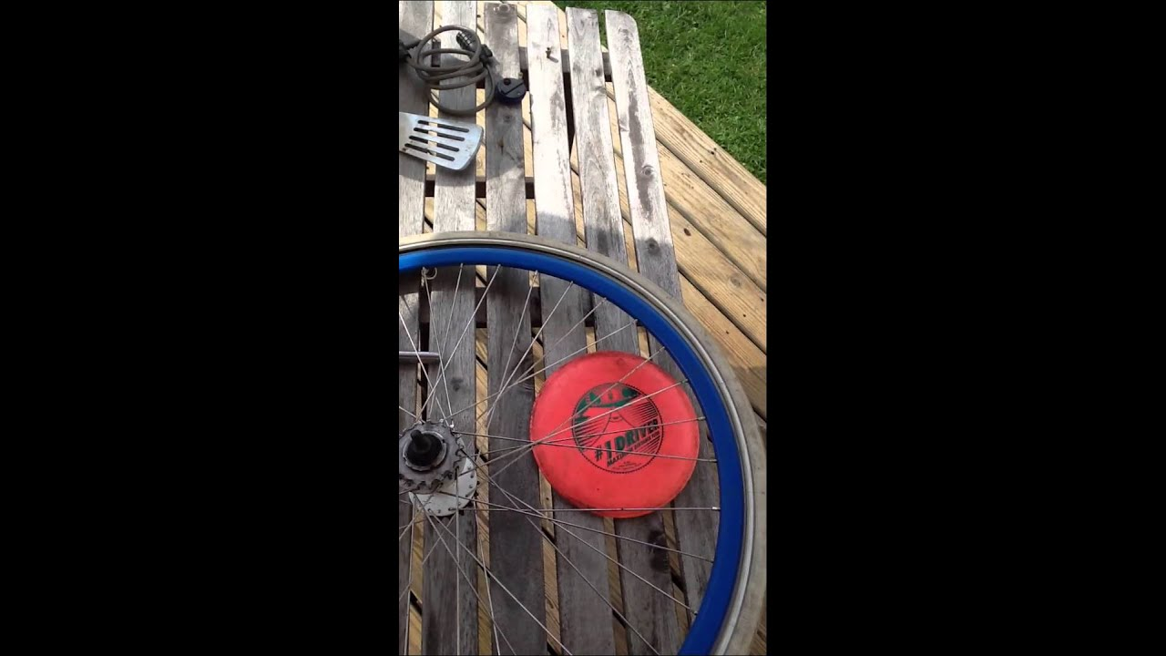 How to Fix A Popped Bike Tire w/ No New Tubes or a Patch ...