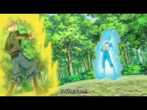 Vegeta laughs (on super saiyan 3)