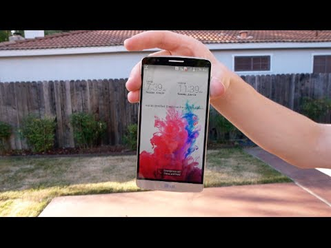 LG G3 Durability Drop Test