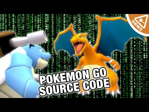 What Secrets Pokemon Go Source Code Reveal! (Nerdist News w/ Jessica Chobot)