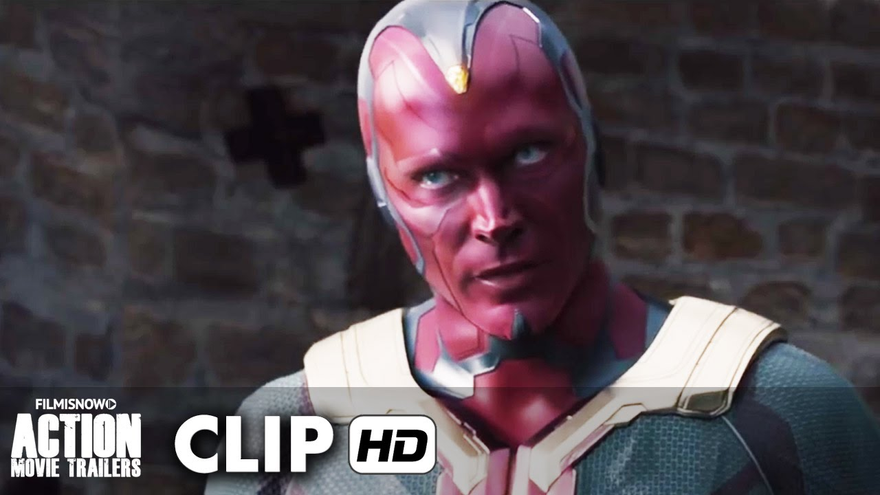 Avengers: Age of Ultron Movie Clip 'Ultron vs. Vision' (2015) - DVD Blu-Ray Release [HD]