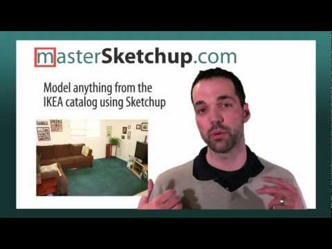Model any IKEA furniture using Sketchup