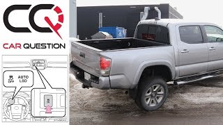 Toyota trucks AUTO LSD system | In ACTION and How it work!