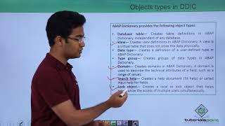 SAP ABAP - Data Dictionary