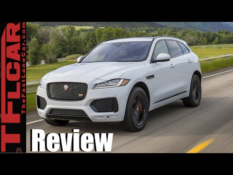 2017 Jaguar F-Pace Review: Can a AWD Crossover be Sexy. Fast & Fun to Drive?