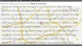 Neiman Marcus Group Inc Corporate Office Contact Information