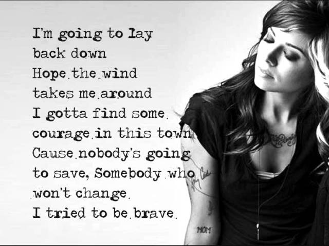 Christina Perri - Backwards (Lyrics)