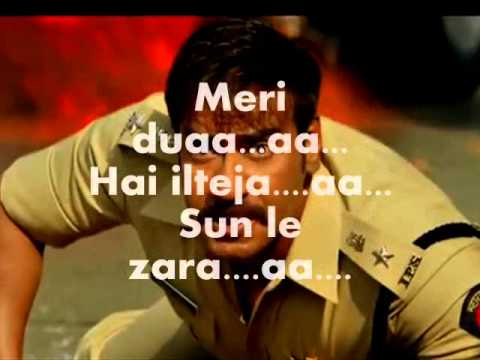 Sun Le Zara-instrumental Karaoke-singham Returns video
