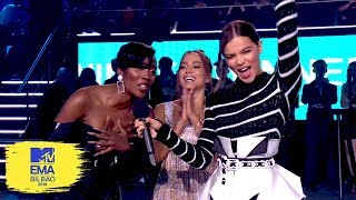 Hailee Steinfeld Presents the Best Acts From Germany, Brazil & Africa | MTV EMAs 2018