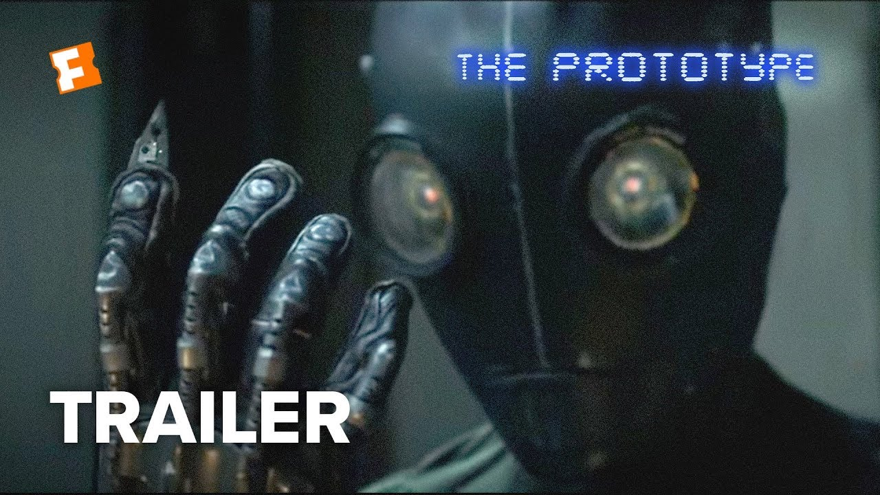 science fiction alien robots movie trailer