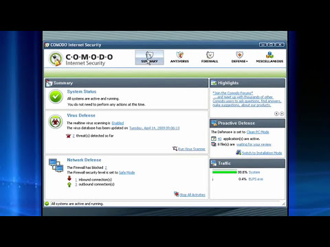Comodo Internet Security Software