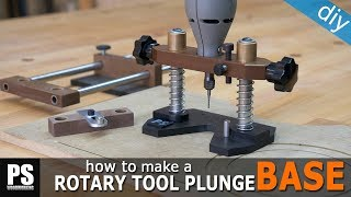 Homemade Rotary Tool Plunge Base