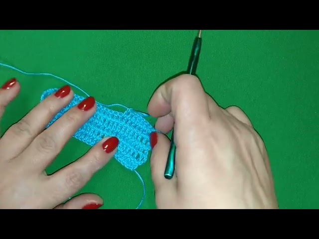 Pattern DIY - Crochet - Tight crochet -  Узор крючком -  плотное вязание