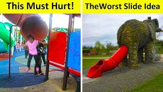 The Worst Playground Design Ideas Ever!