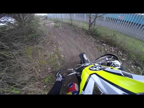 Dockland Riders Enduro Track - London UK KTM 125 EXC