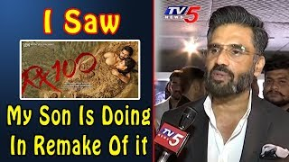 Bollywood Hero Sunil Shetty's Son To Debut In Telugu Blockbuster RX100 Remake