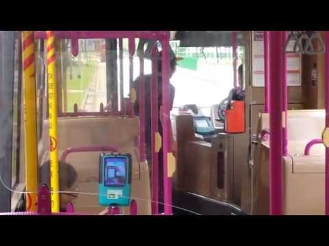 An angry Malay man scold bus drive who don