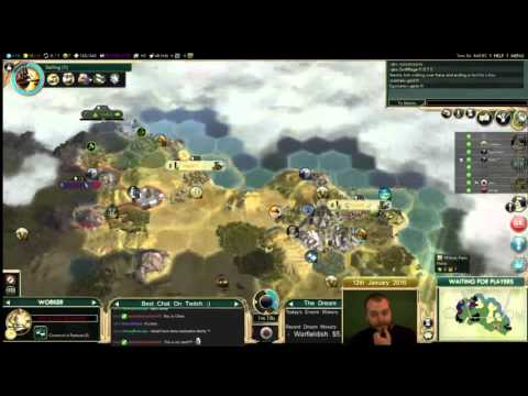 Civilization 5 Multiplayer 150: Assyria [Summary] ( BNW 8 Player Free For All) Gameplay/Commentary
