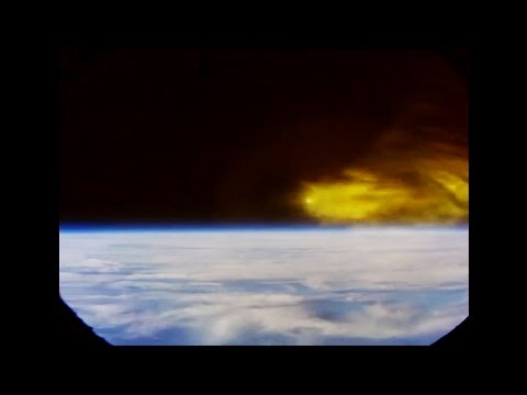 ᴴᴰ Onboard Re-entry into Earth's Atmosphere +comm.● New NASA Spacecraft
