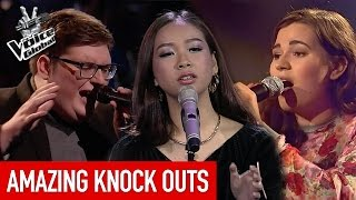 The Voice | 5 AMAZING KNOCK OUT performances