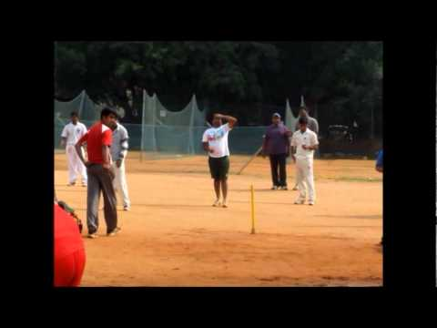 IBM Bangalore Cricket Team - Practice session