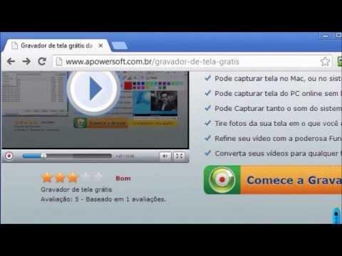 ComogravaratelacomGravador de tela grátis da Apowersoft