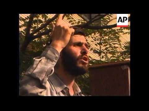 IRAN: TEHRAN: STUDENTS STAGE PROTEST OUTSIDE UN OFFICES