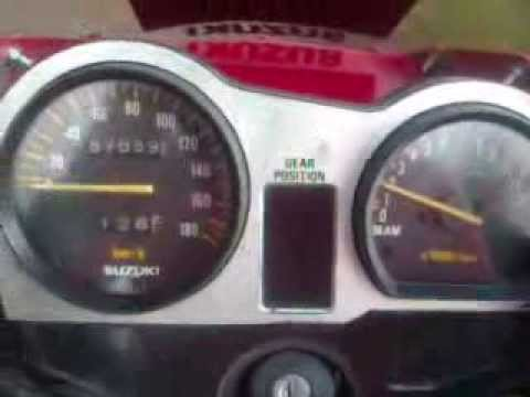Suzuki Txr  Top Speed