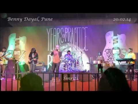 Benny Dayal - Pune 200214 (Masakali Kaise Mujhe Tu Hi Toh Meri...