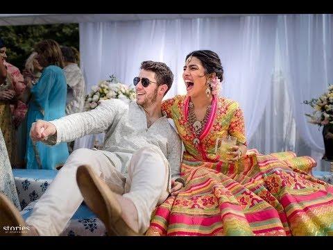 प्रियंका-निक की तस्वीरें, क्रिश्चियन रीति-रिवाज से हुई शादी आज लेंगी 7 फेरे