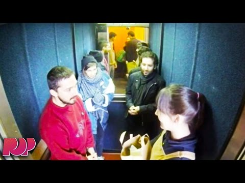 Shia LaBeouf Livestreams 24 Hours In An Elevator, Slaps Student
