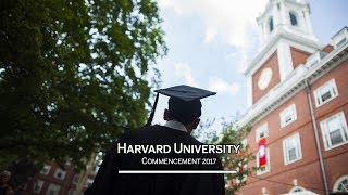 Harvard University Commencement 2017 Afternoon Exercises by : Harvard University
