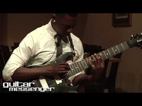 Tosin Abasi - Animals As Leaders: GuitarMessenger.com Masterclass Part 1 (Tapping & CAFO)