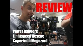 Supertrain Megazord (Grand Liner) review