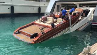 Onboard a Superyacht: Recovering Tenders James Bond style!