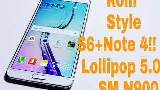 ROM DrK L20 ESTYLE S6 Y NOTE 4  FOR NOTE 3 SM N900